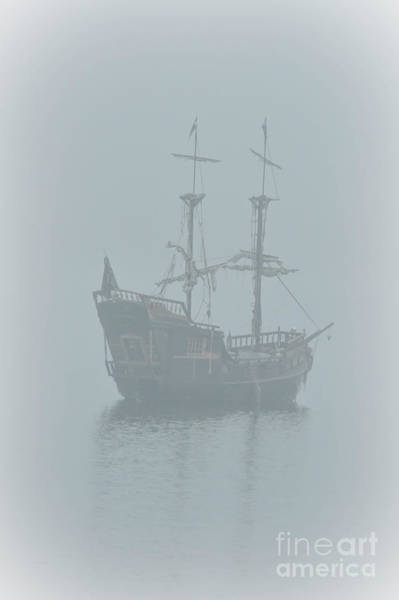 Nelson Bc Photograph - Pirate Ship by Joy McAdams