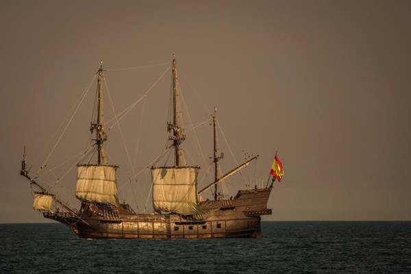 Photograph - Pirate Ship by Sue Conwell