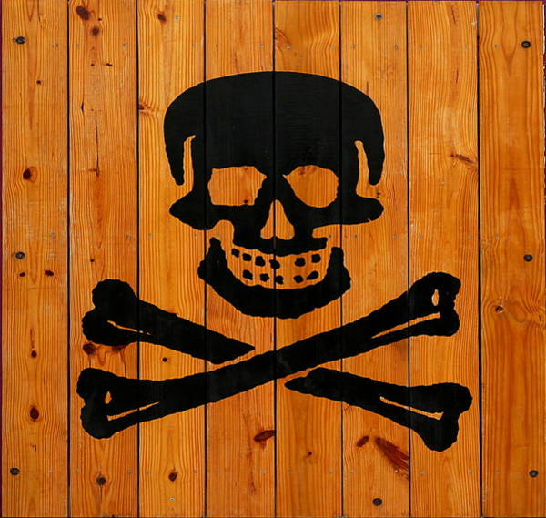 Photograph - Pirate Sign 3 by Richard Reeve