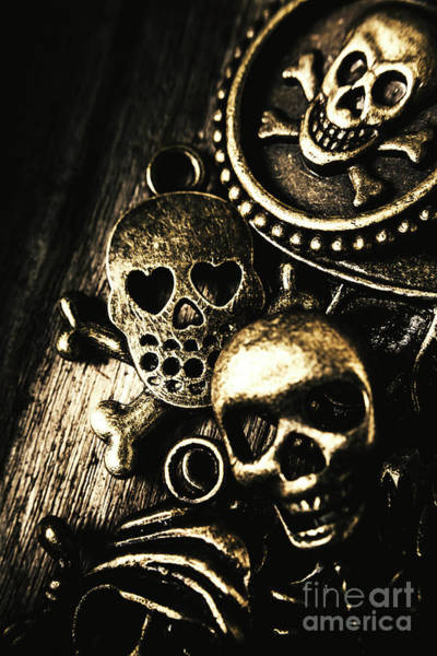 Death Photograph - Pirate Treasure by Jorgo Photography - Wall Art Gallery
