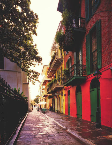 Wall Art - Photograph - Pirate's Alley In The French Quarter by Library Of Congress