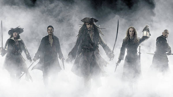 Water Digital Art - Pirates Of The Caribbean At World's End by Maye Loeser