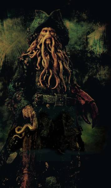 Pirates Of The Caribbean Digital Art - Pirates Of The Caribbean Dead Man's Chest 2006  by Geek N Rock