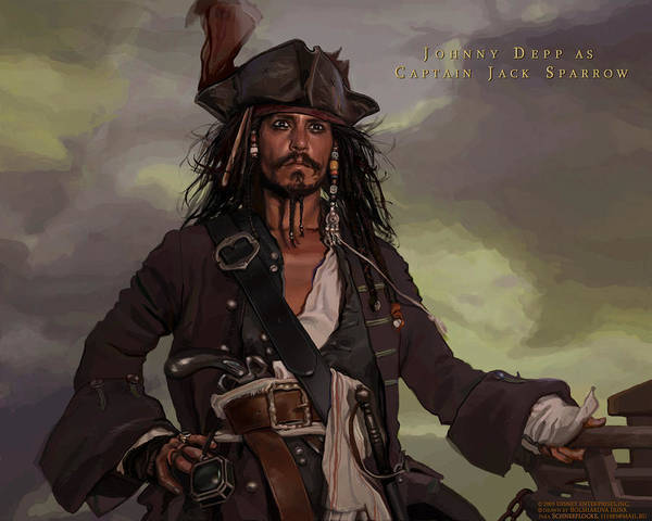 Pirates Of The Caribbean Digital Art - Pirates Of The Caribbean by Mery Moon