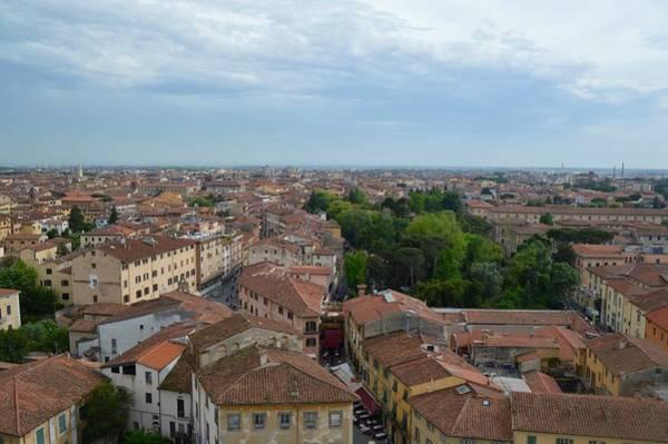 Pisa From Above Art Print