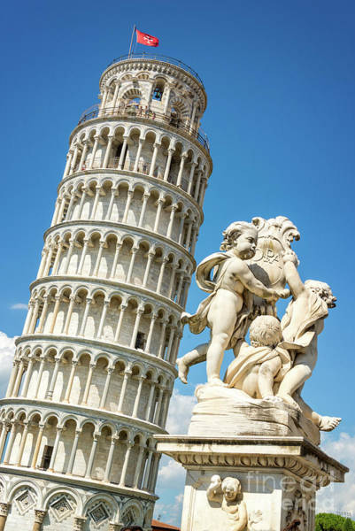 Wall Art - Photograph - Pisa Tower by Delphimages Photo Creations