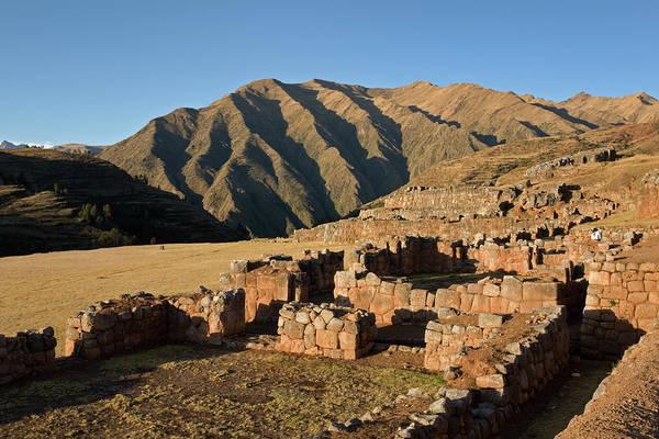 Photograph - Pisac Inca Ruins by Aivar Mikko