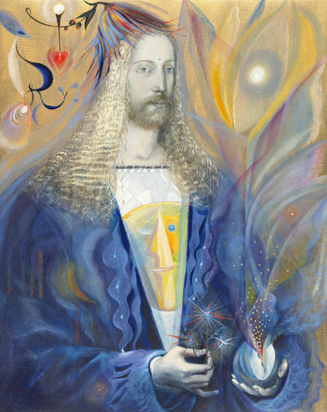 Emanate Painting - Pisces by Annael Anelia Pavlova