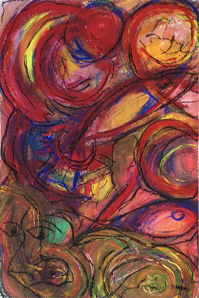 Pastel - Pisces Symbalic by Katt Yanda