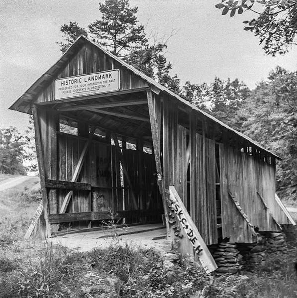 Photograph - Pisgah Covered Bridge No. 1 by Matthew Irvin