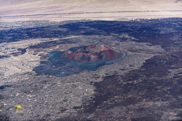 Photograph - Pisgah Crater by Jim Thompson