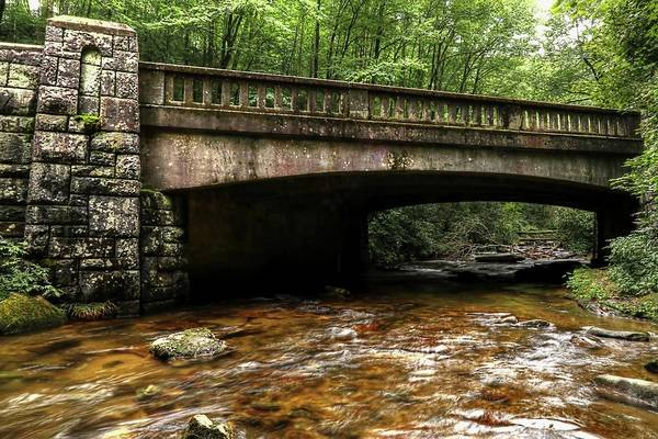 Photograph - Pisgah National Forest Stone Bridges by Carol Montoya