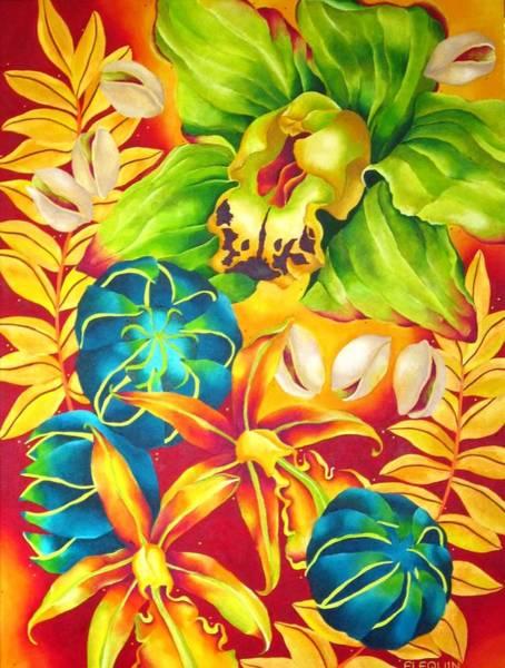 Wall Art - Painting - Pistachio 2 by Elizabeth Elequin