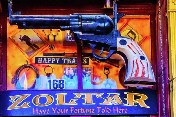Armament Photograph - Pistol Gun Sign by Garry Gay