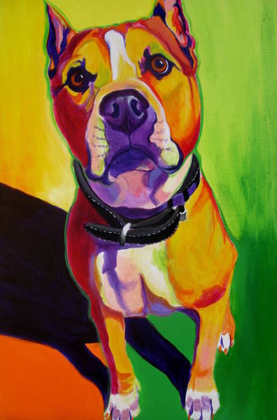 Bully Painting - Staffordshire - Fifty by Alicia VanNoy Call