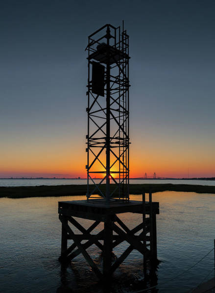Photograph - Pitt Street Bridge Tower by Donnie Whitaker