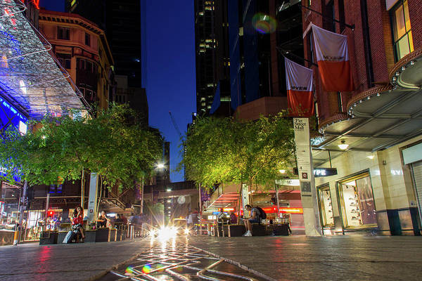 Photograph - Pitt Street Mall by Kenny Thomas