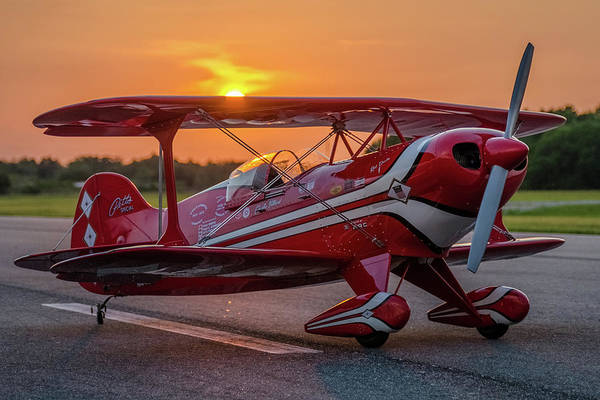Pitts Sunset Art Print