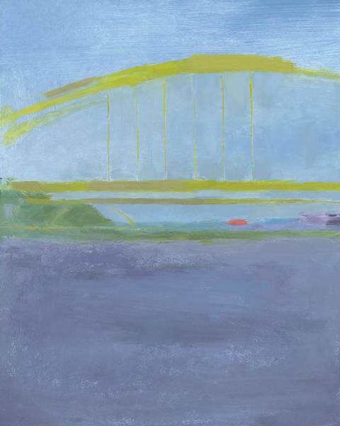Painting - Pittsburgh Bridge by Chris N Rohrbach