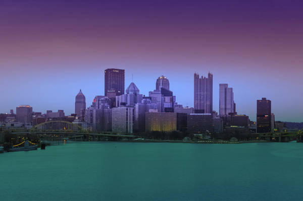 Wall Art - Photograph - Pittsburgh City Skyline by Art Spectrum