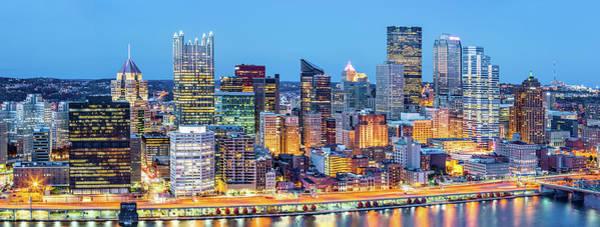 Photograph - Pittsburgh Downtown Panorama by Mihai Andritoiu