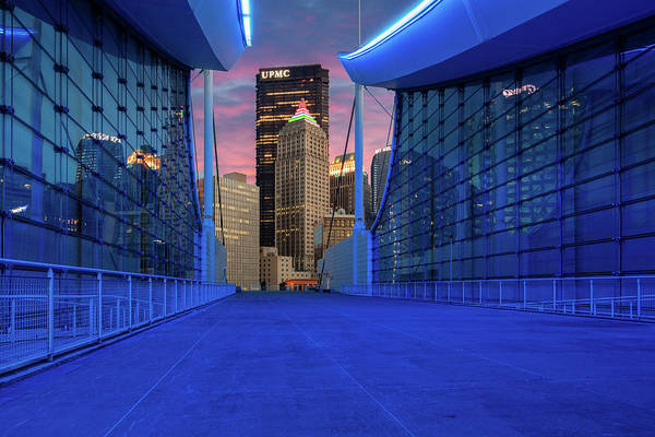 Wall Art - Photograph - Pittsburgh In Blue  by Emmanuel Panagiotakis