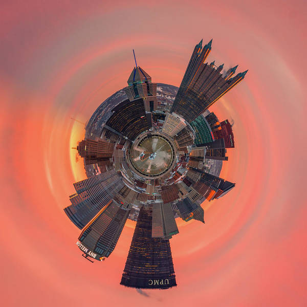 Photograph - Pittsburgh Little Planet  by Emmanuel Panagiotakis