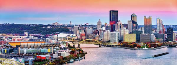 Photograph - Pittsburgh Pano by Mihai Andritoiu
