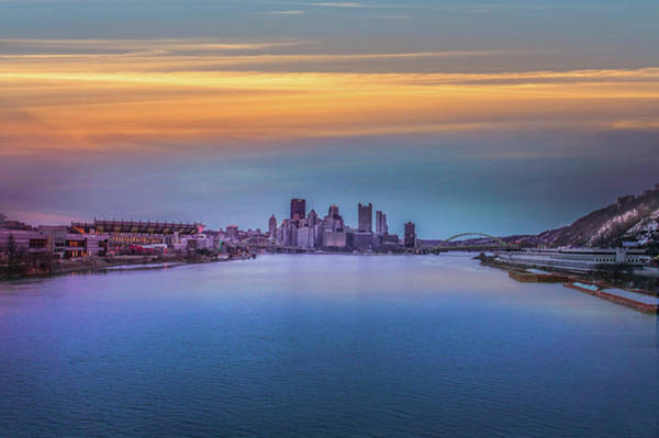 Wall Art - Photograph - Pittsburgh Pennsylvania Skyline by Art Spectrum