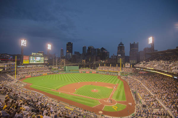 Photograph - Pittsburgh Pirates Pnc Park X2 by David Haskett II