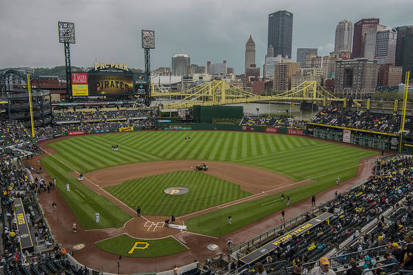 Photograph - Pittsburgh Pirates Pnc Park X5 by David Haskett II