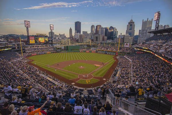 Photograph - Pittsburgh Pirates Pnc Park X6 by David Haskett II