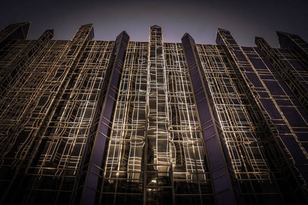 Wall Art - Photograph - Pittsburgh Plate Glass Place At Night by Art Spectrum