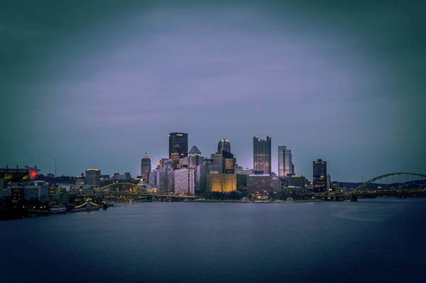 Wall Art - Photograph - Pittsburgh Skyline by Art Spectrum