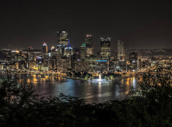 Photograph - Pittsburgh Skyline by Brent Durken