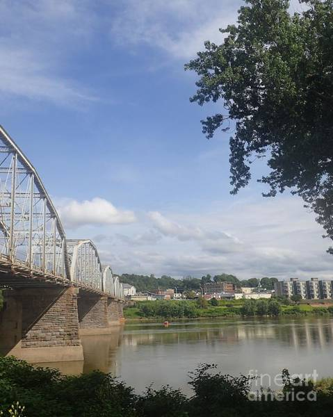 Photograph - Pittston At The Bridge by Christina Verdgeline