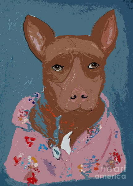 Digital Art - Pitty In Pajamas by Ania M Milo