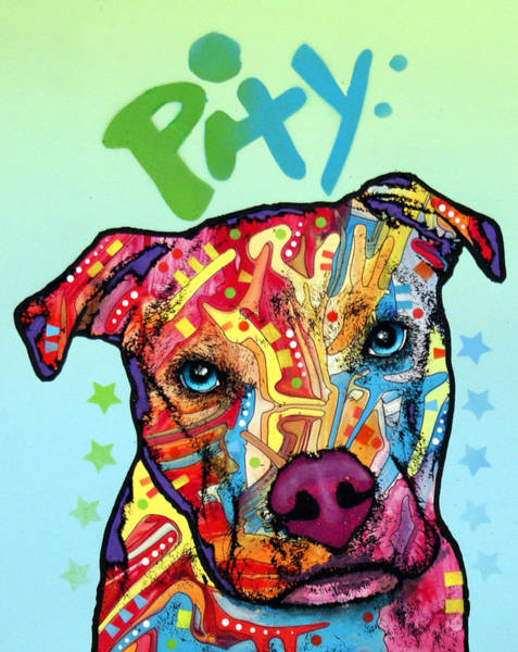 Pity Art Print by Dean Russo Art