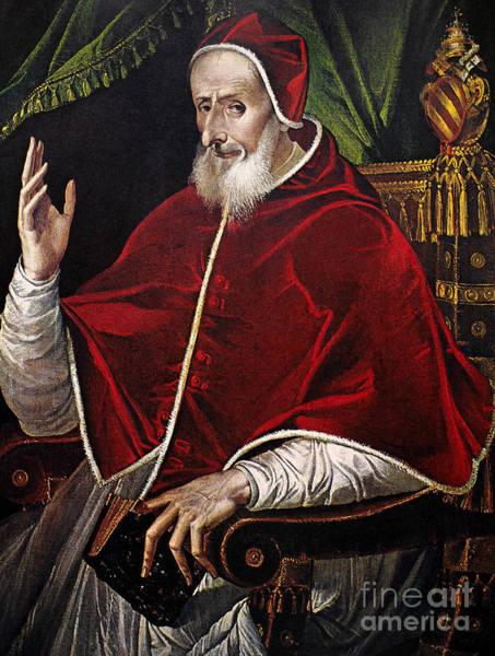 Aod Painting - Pius V (1504-1572) by Granger