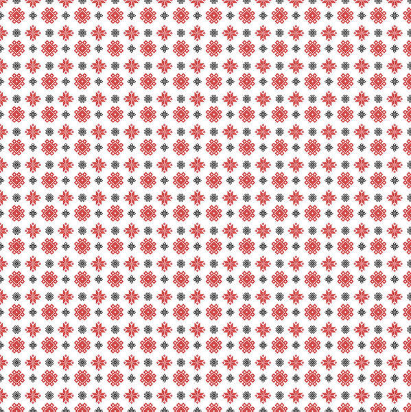 Digital Art - Pixel Christmas Pattern by Becky Herrera