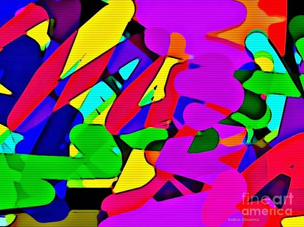 Digital Art - Pizazzz by Kathie Chicoine
