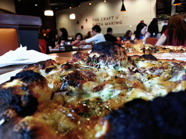 Photograph - Pizza And People by Robert Knight