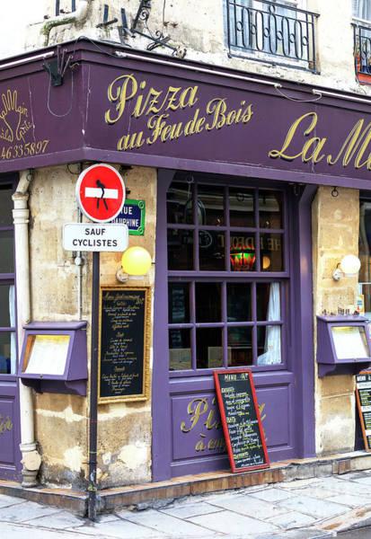 Pizza Photograph - Pizza Au Feu De Bois Paris by John Rizzuto