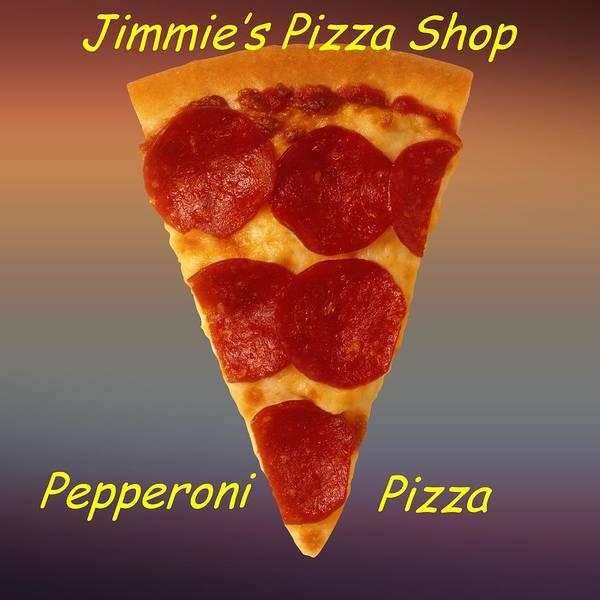 Digital Art - Pizza Slice Customized  by Movie Poster Prints