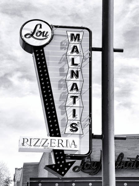 Wall Art - Photograph - Pizza Time Chicago Pizza by William Dey