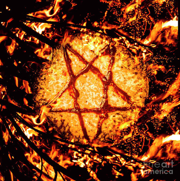 Symbol Photograph - Pizzagate Inferno by Jorgo Photography - Wall Art Gallery