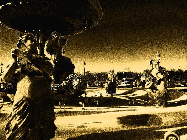 Photograph - Place De La Concorde by Laura Greco