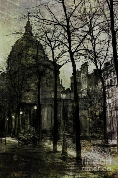Photograph - Place De La Sorbonne by Elena Nosyreva