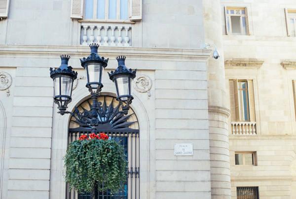 Wall Art - Photograph - Placa De Sant Jaume by Pati Photography
