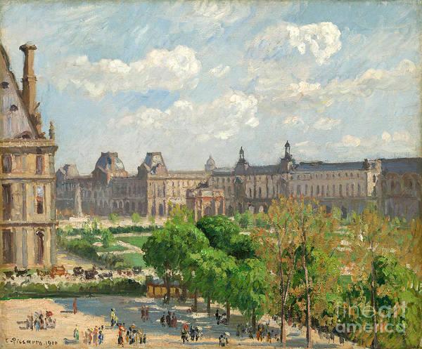 Painting - Place Du Carrousel by Celestial Images